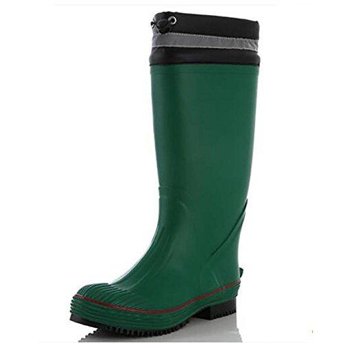 Rain Boots Damen England Naturkautschuk Größe IM Freien Pfützen Mädchen Gummistiefel, 1, 41