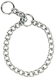Herm Sprenger Steel Chain Choke Dog Collar 22 in. with 4 mm. Extra Heavy links