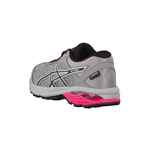 Femme 1000 G Gt 44 Mid EU Chaussures 6 de Running Gris Greyblackaluminum 9690 Asics TX 8txfwd5xq