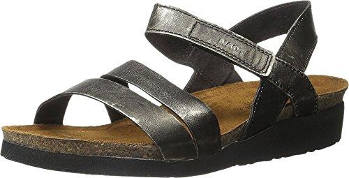 Naot Footwear Women's Kayla Sandal Metal Leather 41 M EU