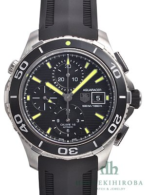 TAG HEUER Men's Aquaracer Stainless Steel Automatic Chronograph Watch