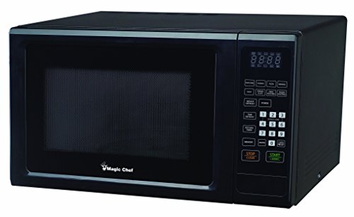 Magic Chef Mcm1110B 1.1 Cubic Feet 1,000-Watt Microwave With Digital Touch, Black