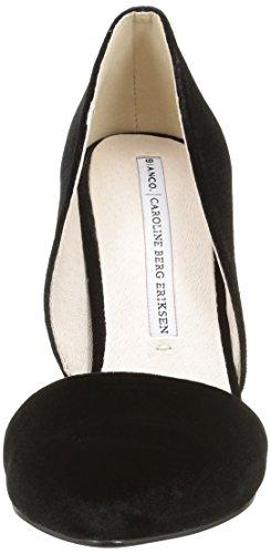 Bianco Damen Cbe Stiletto 35-49052 Pumps Schwarz (Black/10)
