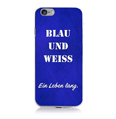 iPhone 6 6s Fan Case - Blau Weiß
