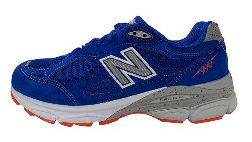 New Balance Herren M990v3 Laufschuh Blau / Rot / Weiß