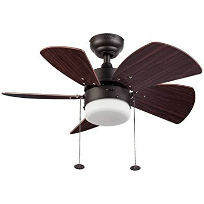 "30"" Honeywell Lenox Ceiling Fan, Bronze"