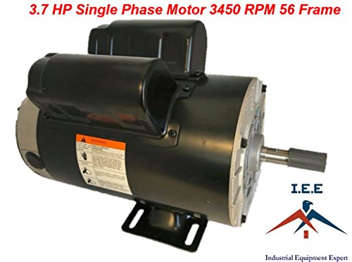 Husky 60 Gallon VT6314 Replacement Motor 3.7 HP 3450 RPM Single Phase SPL 56T
