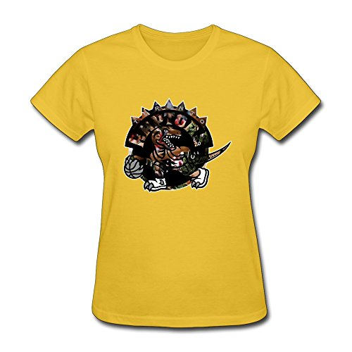 YHYT Women T-shirt NBA Toronto Raptors 2015 100% Cotton XS