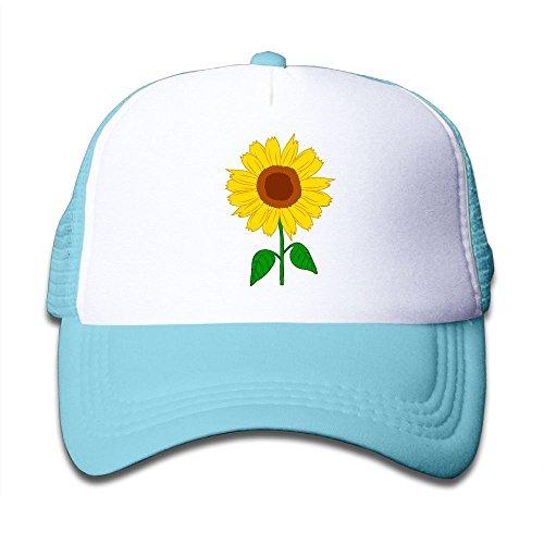 Sunflower Clipart On Boys and Girls Trucker Hat, Youth Toddler Mesh Hats Baseball Cap