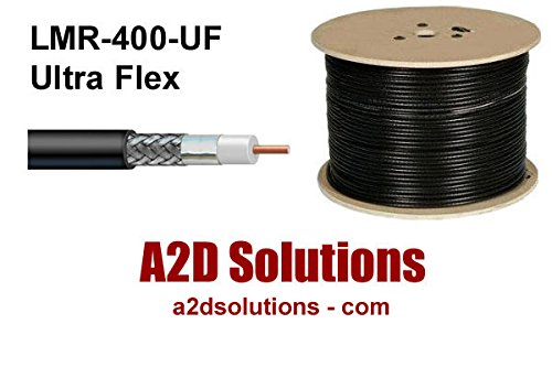 Times Microwave Coaxial Cable Assembly LMR-600 N-Male to Pl-259 Connectors 75 600C-NMPL259-75