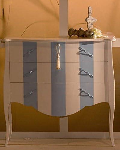 Muebles Natural - Cómoda Modelo Goya, con Pata isabelina, Madera ...