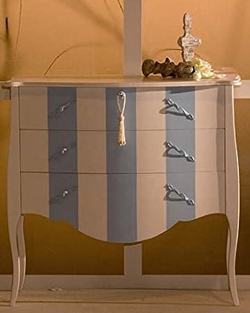 Muebles Natural - Cómoda Modelo Goya, con Pata isabelina ...