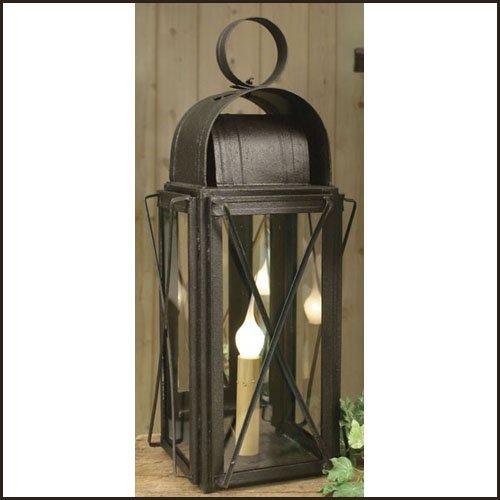 (Colonial Tin Works Milk House Lantern Black)