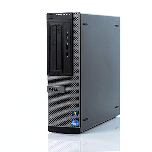 Dell Optiplex 3010 DT High Performance Business Desktop Computer, Intel Quad Core i5-3470 up to 3.6GHz, 8GB Memory, 2TB HDD, DVD, VGA, Windows 10 Professional 64 Bit (Certified Refurbished)