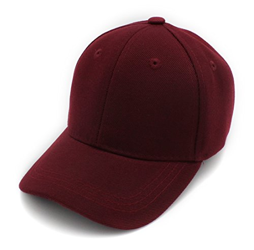 Top Level Baby Infant Baseball Cap Hat-100% Durable Sturdy Polyester Hat, Bur