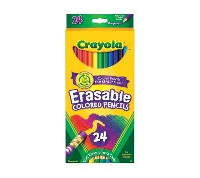CASE Crayola Erasable Colored Pencils