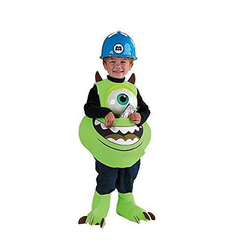 Mike Candy Catcher Costume,Fits up to size 6