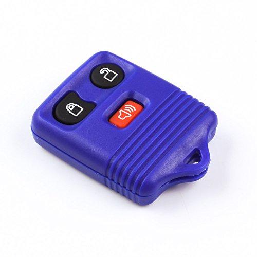 (Keyless Entry 3 Button Car Smart Remote Key Case Shell Fob for Ford Ranger Escape Explorer Duty F-450 350 250 150 Super Super Duty Mercury Mazda Lincoln)