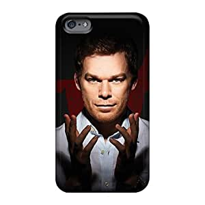 Shockproof Cell-phone Hard Covers For Apple Iphone 6 With Unique Design High Resolution Dexter Movie Wonderful Skin MarieFrancePitre