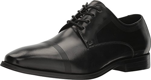 Kenneth Cole REACTION Men's Pure Hearted Oxford, Black, 11 M US