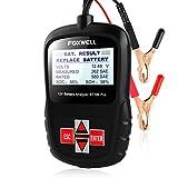 FOXWELL BT100 Pro Battery Analyzer 12V Automotive Battery Load Tester Health/Faults Detector