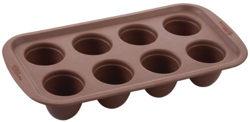 Brownie Pops Silicone Mold-8 Cavity Round