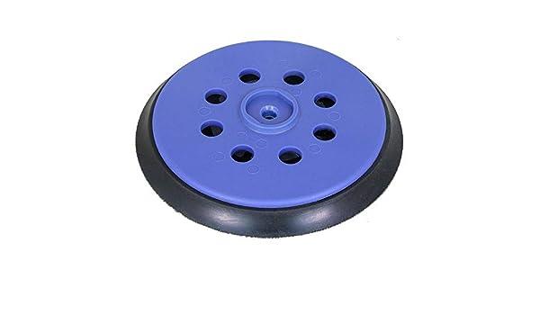 Medio o Duro Blando Plato de lija para lijadora exc/éntrica DeWALT D26410 DFS para Disco de Lijado de Velcro /Ø 150 mm con 8-Agujeros para la extracci/ón de Polvo a su elecci/ón