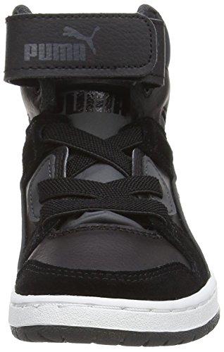 Puma Rebound Street SD Unisex-Kinder Hohe Sneakers Schwarz (black-dark shadow 04)