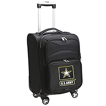 Image of Denco X-Games United States Army Carry-On Luggage Spinnercarry-On Luggage Spinner, Black, 14 Luggage