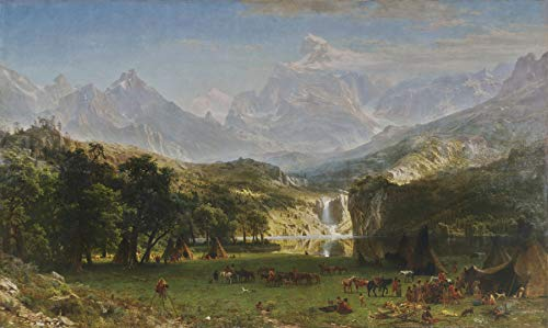 Albert Bierstadt The Rocky Mountains, Lander's Peak Metropolitan Museum of Art, New York, ny 30