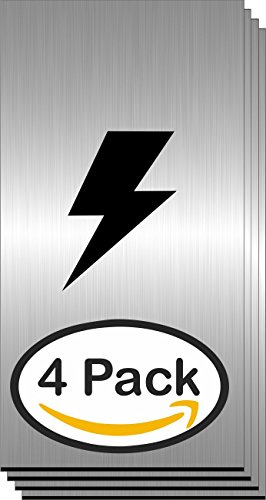 (4 Pack, Engraving-Plastic-Laser- Brushed Silver / Black Core 1/16 Blank Interior and Exterior 2-ply Engraving Materials- Suppliers, Semi)