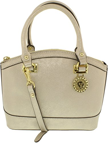 Anne Klein Anne Klein Women's 60406037-887 Synthetic Cross-body Satchel - Gold
