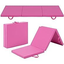 Best Choice Products 6' Exercise Tri-Fold Gym Mat For Gymnastics, Aerobics, Yoga, Martial Arts