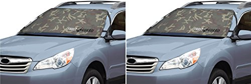 FrostGuard Winter Windshield Cover,  Standard – Woodland Camo