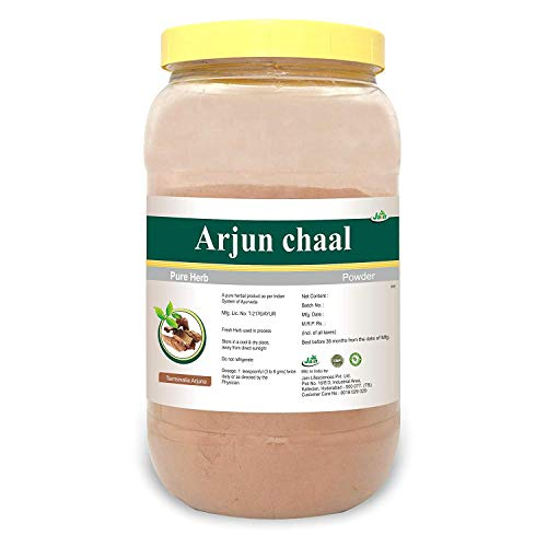 Jain's Arjun Chaal Powder - 1 kg - Indian Ayurveda's Pure Natural Herbal Supplement Powder