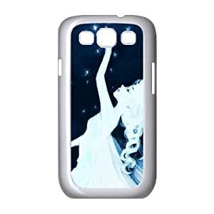 Bloomingbluerose Elsa from Frozen. this Is Just Stunningly Beautiful Samsung Galaxy S3 Case Hardshell for Girls, Case for Samsung Galaxy S3 Mini I8190 [White]
