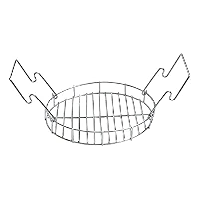 """onlyfire 9"""" Diameter Bunk Bed Basket Fits for Char-Broil The Big Easy Perfect for Expands The Cooking Space"""