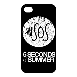 Danny Store 2015 New Arrival Protective Rubber Cover Case for iPhone 4,iPhone 4s Cases - 5sos by icecream design