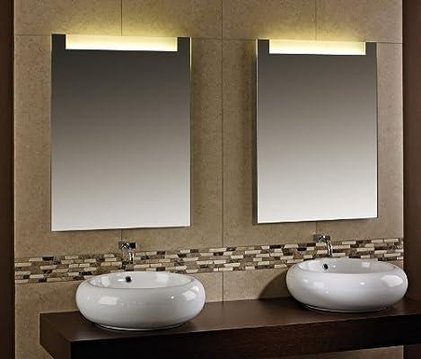 Spiegel nach Maß Crystal B 400mm x H 600mm – Kaltweiß ...