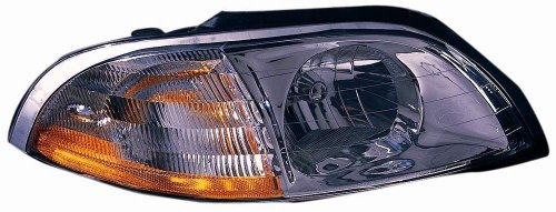 Ford Windstar Headlight Assembly - Depo 330-1101R-ASN Ford Windstar Passenger Side Replacement Headlight Assembly