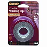Scotch?Interior/Exterior Mounting Tape TAPE,MNTNG,HVYDTY,5LBS,GY 00012 (Pack of20) by MMM C