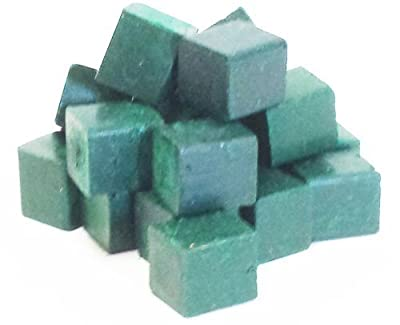 Harbor Sales HWB14a Beeswax for Candlemaking, Crafts and Encaustic Painting, Dark Green