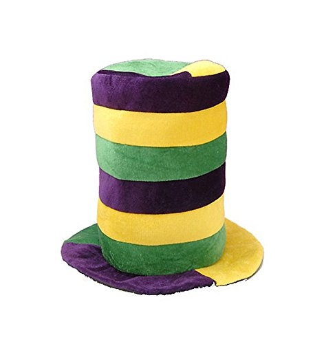 [Mardi Gras Themed Costumes - Assorted Hats - Party Supplies - by Funny Party Hats] (Hat Mardi Gras Costumes Accessories)