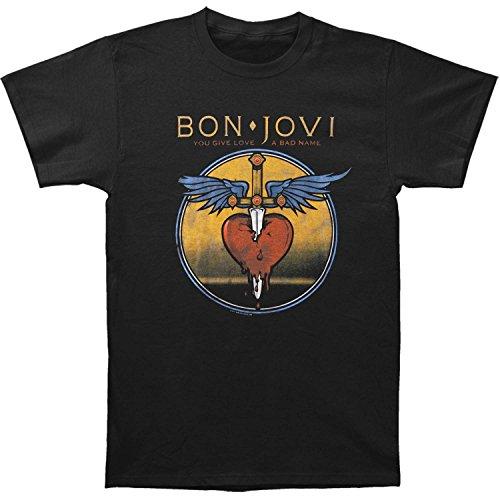 Licensed Bon Jovi Men's Bad Name T-shirt