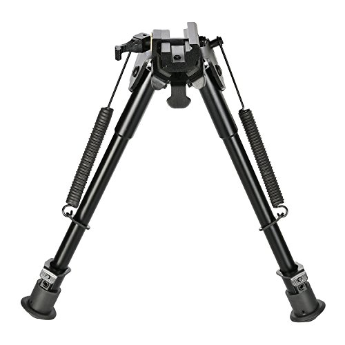 CVLIFE 9-13 Inches Tactical Rifle Bipod with Quick Release A