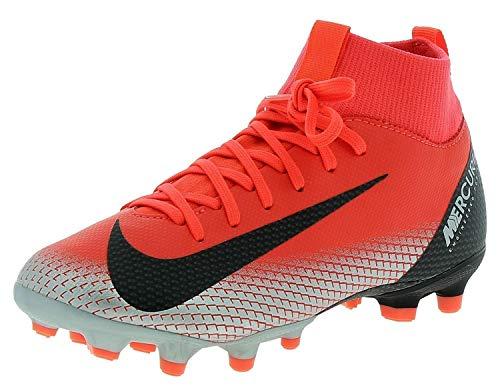 my GS CR7 FG/MG Boys Soccer-Shoes AJ3111-600_4.5Y - Bright Crimson/Black-Chrome-Dark Grey ()