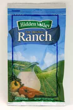 Hidden Valley Original Ranch Portion Dressing Pack, 1.5 Oz - 84 Per Case