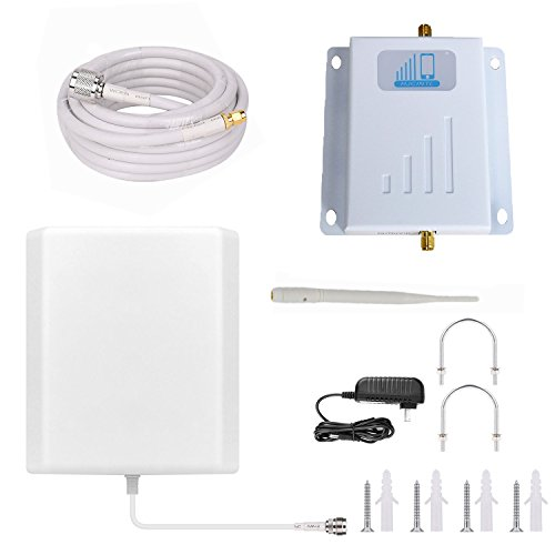 Verizon Cell Phone Signal Booster 4G LTE Cell Signal Booster HJCINTL FDD Band 13 700MHz High Gain 4G Home Mobile Phone Signal Booster Amplifier (Panel/Whip)