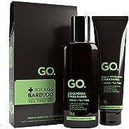 GO. Kit Shampoo + Balm Modelador, Tea Tree