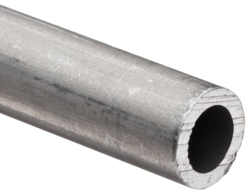 Aluminum 6061-T6 Pipe Schedule 80 2.5'' Nominal, 2.323'' ID, 2.88'' OD, 0.28'' Wall, 72'' Length by Small Parts